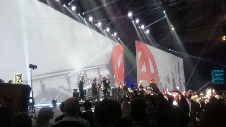 OMR-Bühne Auftritt Fantastische Vier
