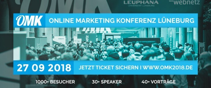 Banner Online Marketing Konferenz 2018