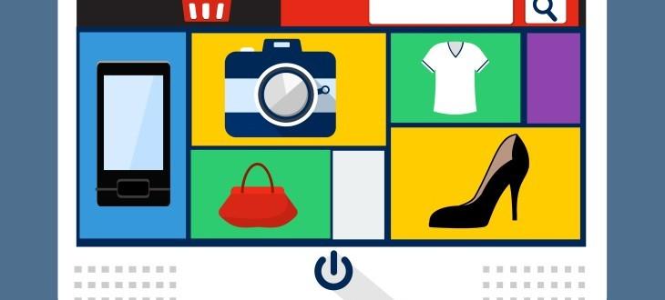 Grafik einer Produktdetailseite eines Online-Shops
