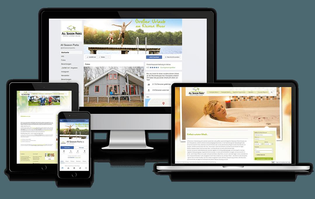 Website des Kunden