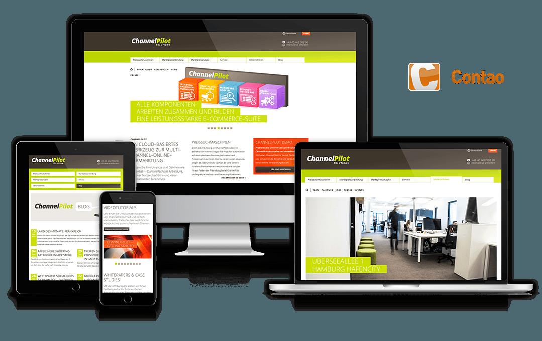 Website des Kunden Referenzkunden
