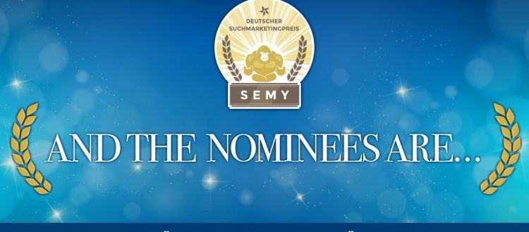 SEMY Preis Teaser für Nominierungen