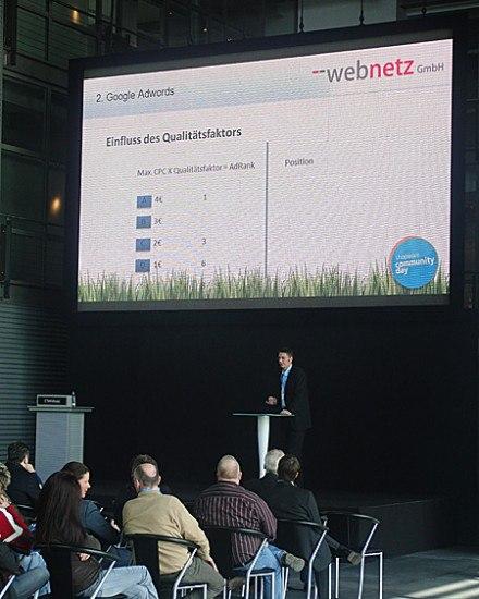 SEA Schulung durch web-netz bei Shopware