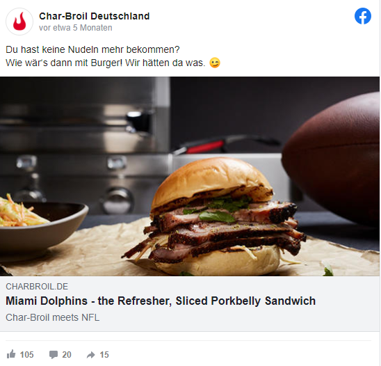 Facebook_Beispielpost_Food