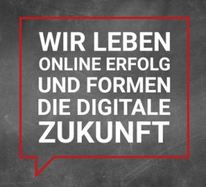 Die Vision von web-netz lautet: Wir leben Online Erfolg und formen die digitale Zukunft