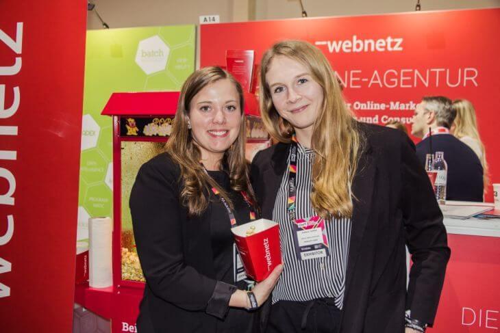 web-netz-Stand Social-Media-Team