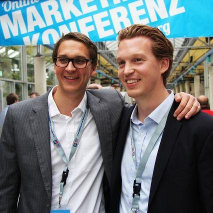 Sebastian Loock und Patrick Pietruck auf der OMK Lüneburg