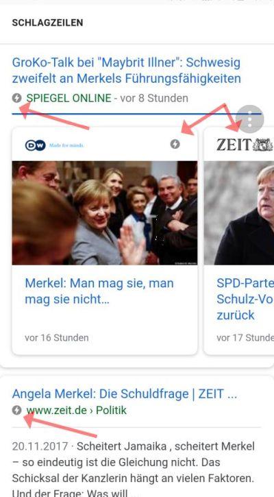 AMP-Beispiele für News-Artikel